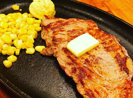 ステーキ定食 / Steak Set