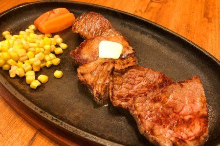 【限定入荷】牛モモ肉をカットステーキでご提供♪