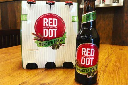 【日本初登場!】緑色のラガービール「モンスターグリーン」販売開始しました!【RED DOT】