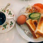 久しぶりに喫茶店でモーニング