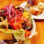 本所の裏通りにあるレストランで「おいいしい野菜とイタリアン」を満喫