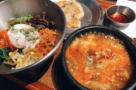 ヨドバシカメラで韓国料理を堪能