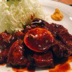 【ブログ更新】スカイツリー近くにある浅草通沿いにあるとんかつ屋「かつき亭」さんで浅草とんてき定食